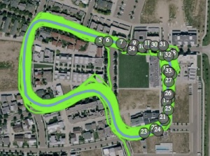 Prospect Criterium Course Map